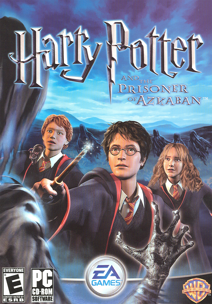 Saga Harry Potter HP3VideoGameCover1