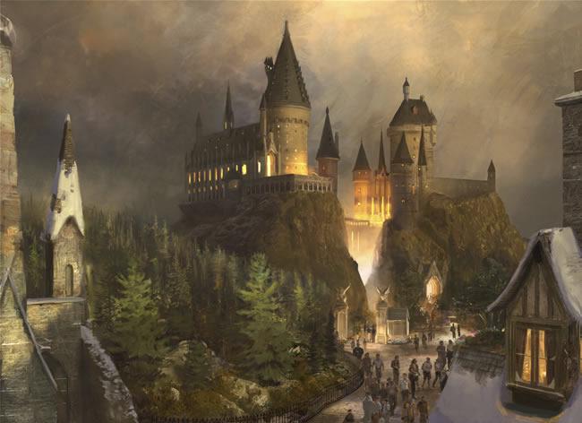 El parque de atracciones El Mundo Mágico de Harry Potter