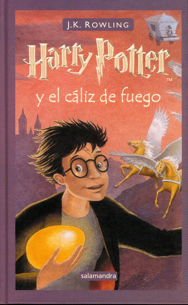 Harry Potter y el caliz de fuego pdf