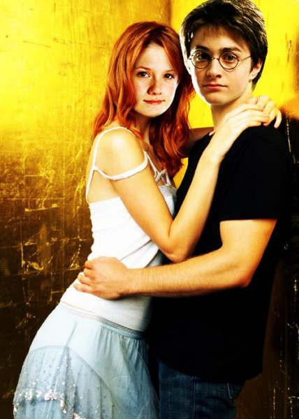 Daniel Radcliffe y Bonnie Wright