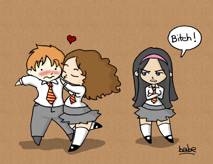 Lavander Brown contra Hermione Granger