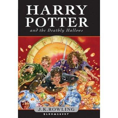 Harry Potter y las Reliquias de la Muerte Portada Inglesa Infantil