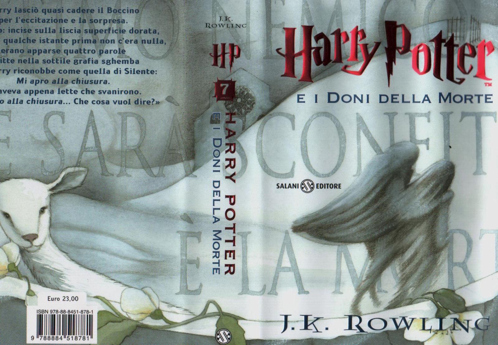 Portada Italiana Harry Potter