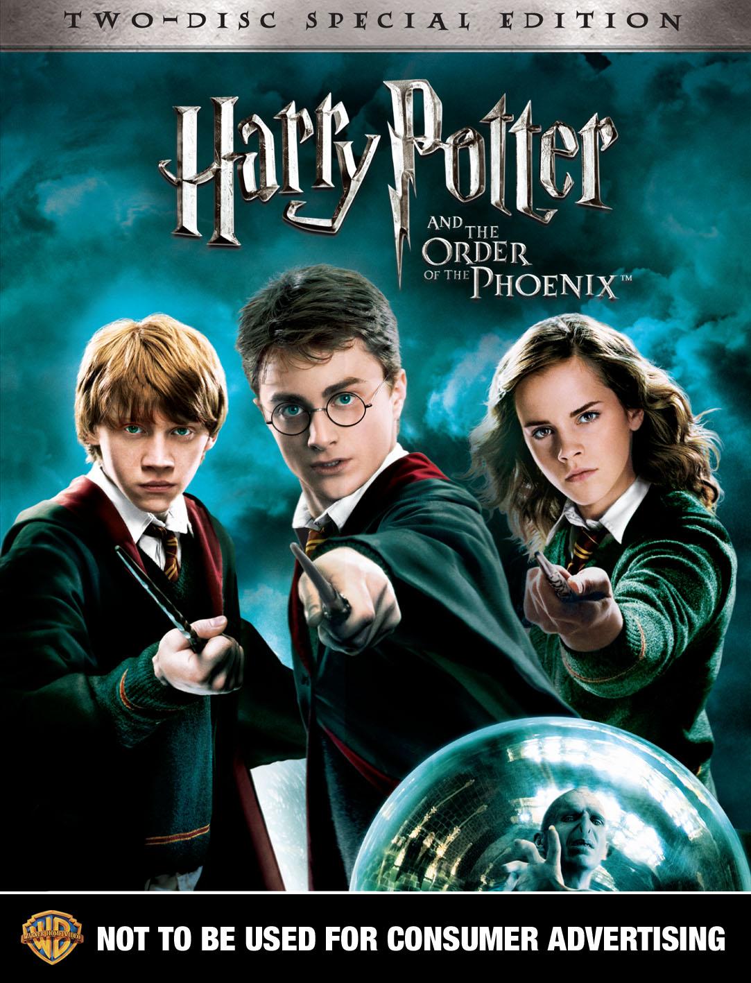 DVD Harry Potter y la Orden del Fenix