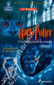 portada para Harry Potter y las Reliquias de la Muerte