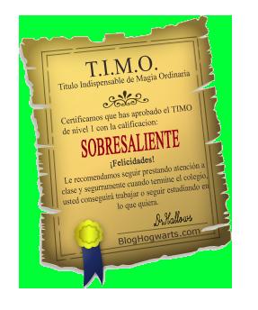 TIMO Nivel 1: Sobresaliente