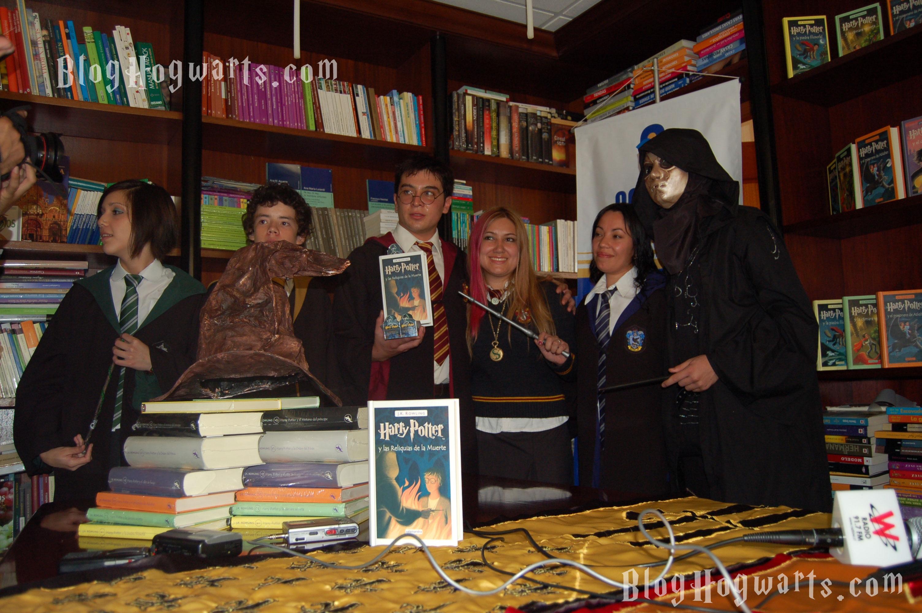 portada de 'Harry Potter y las Reliquias de la Muerte'