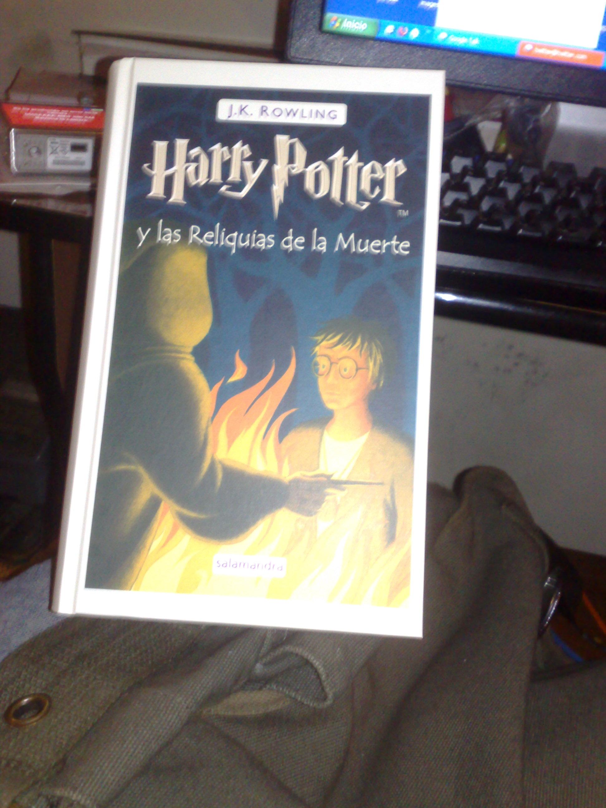 Portada Harry Potter 7