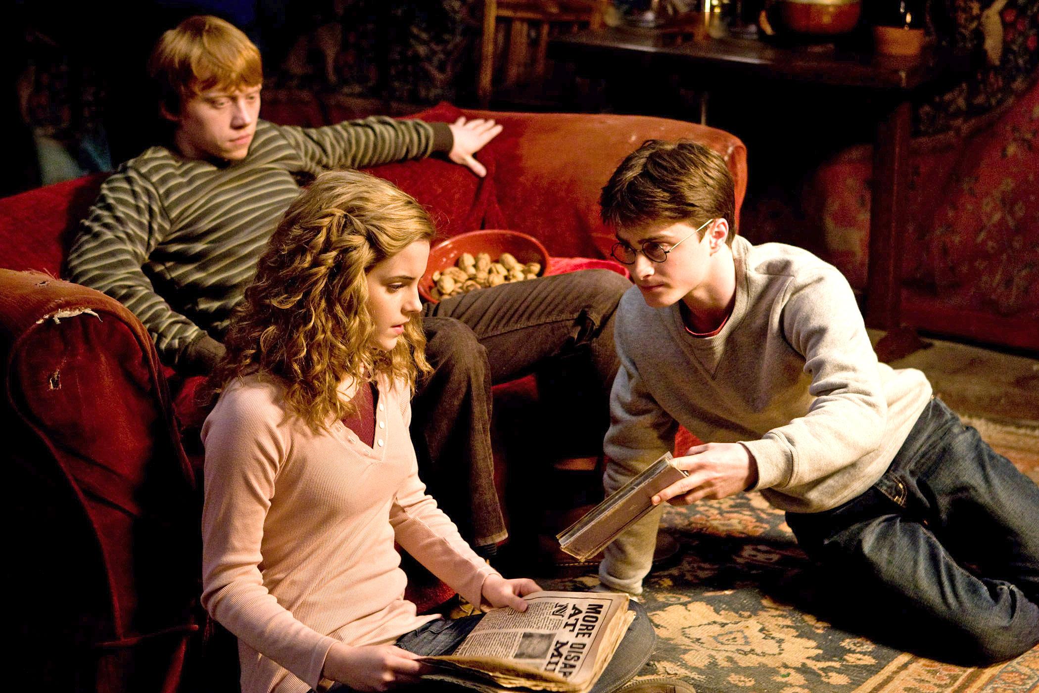 Segunda Imagen Oficial de 'Harry Potter y el Misterio del Príncipe'
