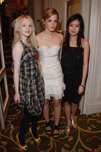 Evanna, Emma y Katie