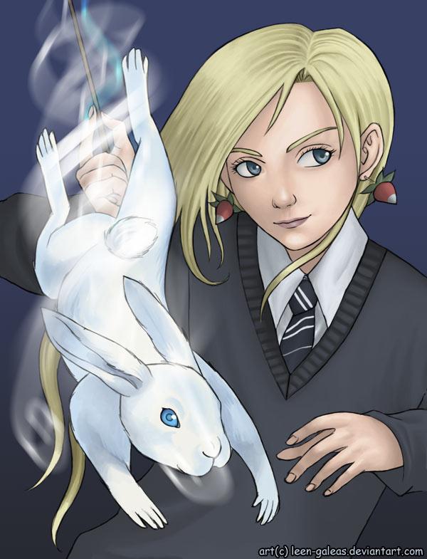 Harry Potter anime [Megapost] Luna__s_patronus_by_leen_galeas