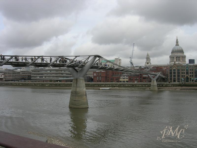 Filmación de HP6 en Puente Millenium, Londres