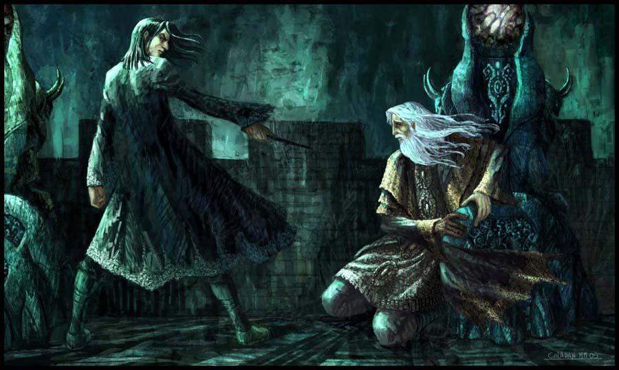 BlogHogwarts - Snape asesina a Dumbledore en la Torre de Astronomía