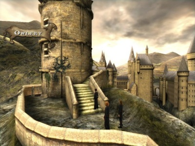 BlogHogwarts - Primera Imagen del Videojuego de HP6 para Mac