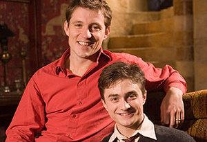 Ben Sheperd y Daniel Radcliffe