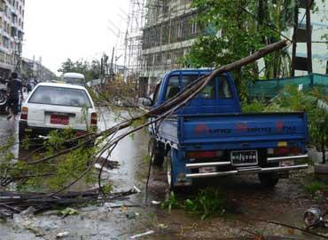 Ciclón de Myanmar