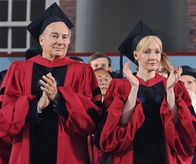 People Harvard Rowling Aga Khan