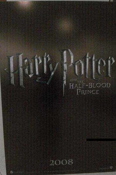 Nuevo Poster Oficial de Harry Potter y el Misterio del Príncipe