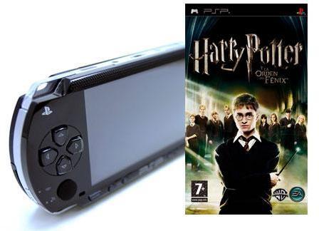Harry Potter para PSP