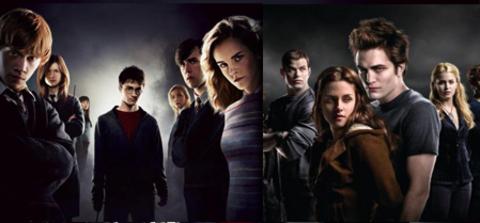 Twilight - Harry Potter
