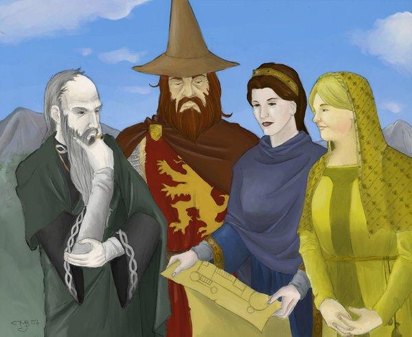 Fundadores Hogwarts