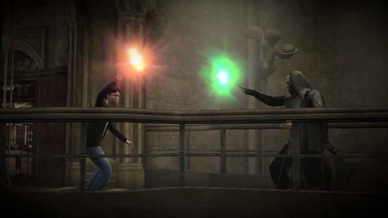 Harry y Mortifago Videojuego