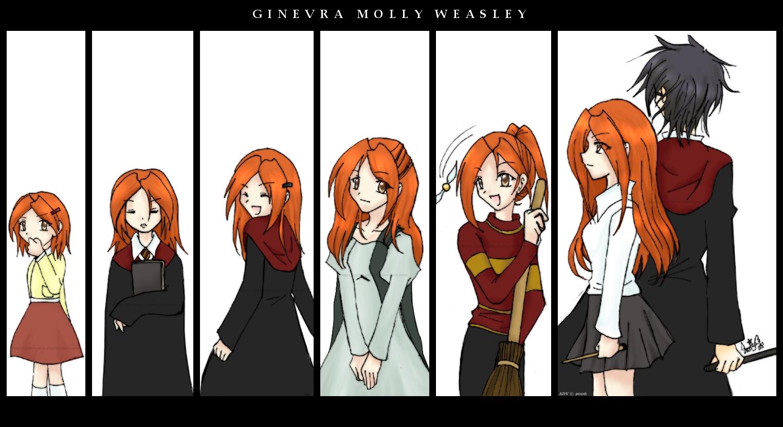 Ginny a través de los tiempos