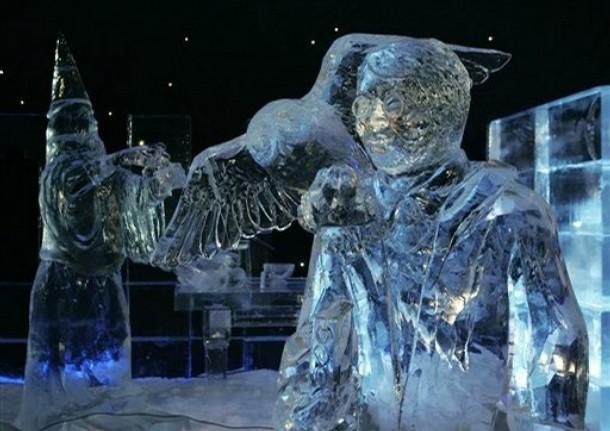 Belgium Ice Sculpture Festival