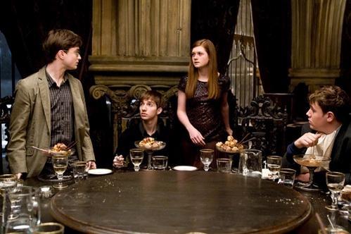 Harry y Ginny en el Club Slug