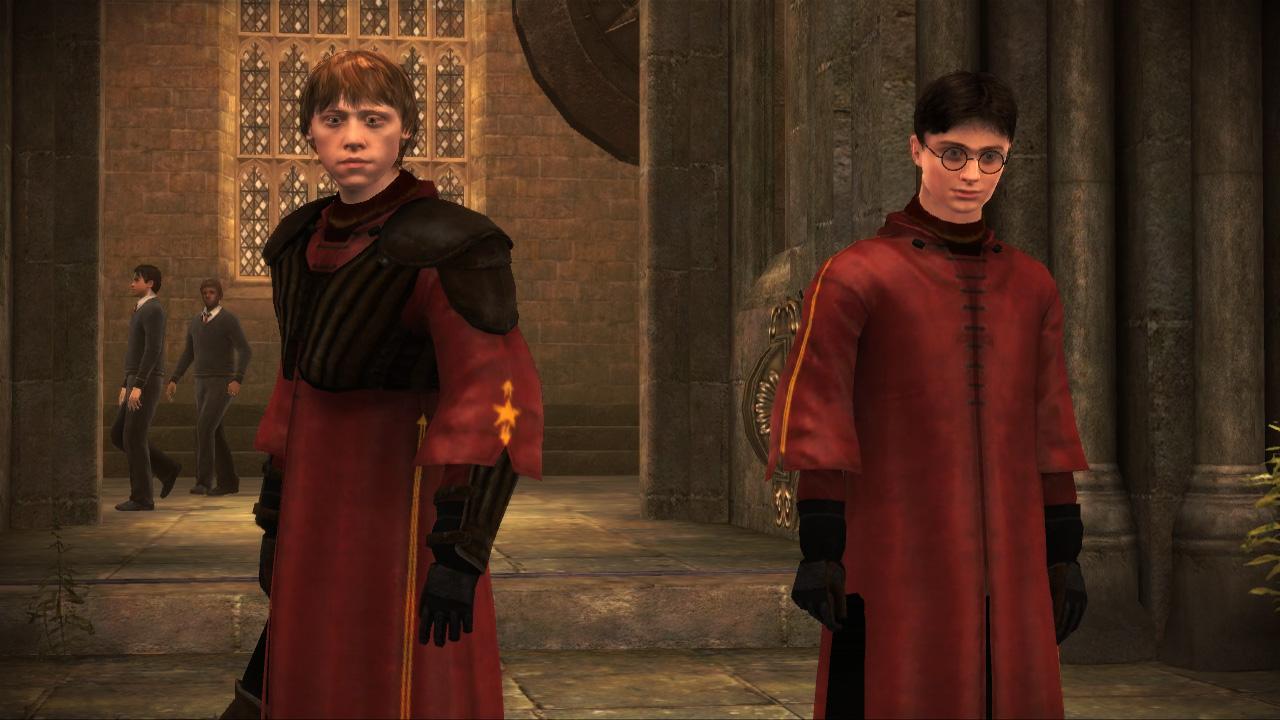 Ron y Harry - Videojuego Harry Potter y el Misterio del Príncipe