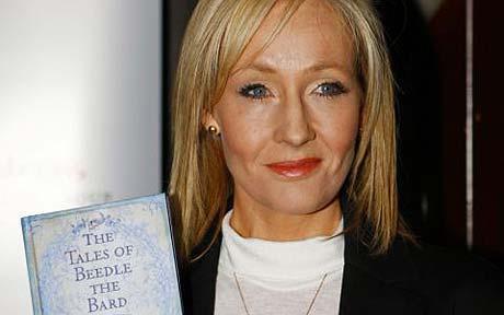 JK Rowling y sus 'Cuentos de Beedle el Bardo'