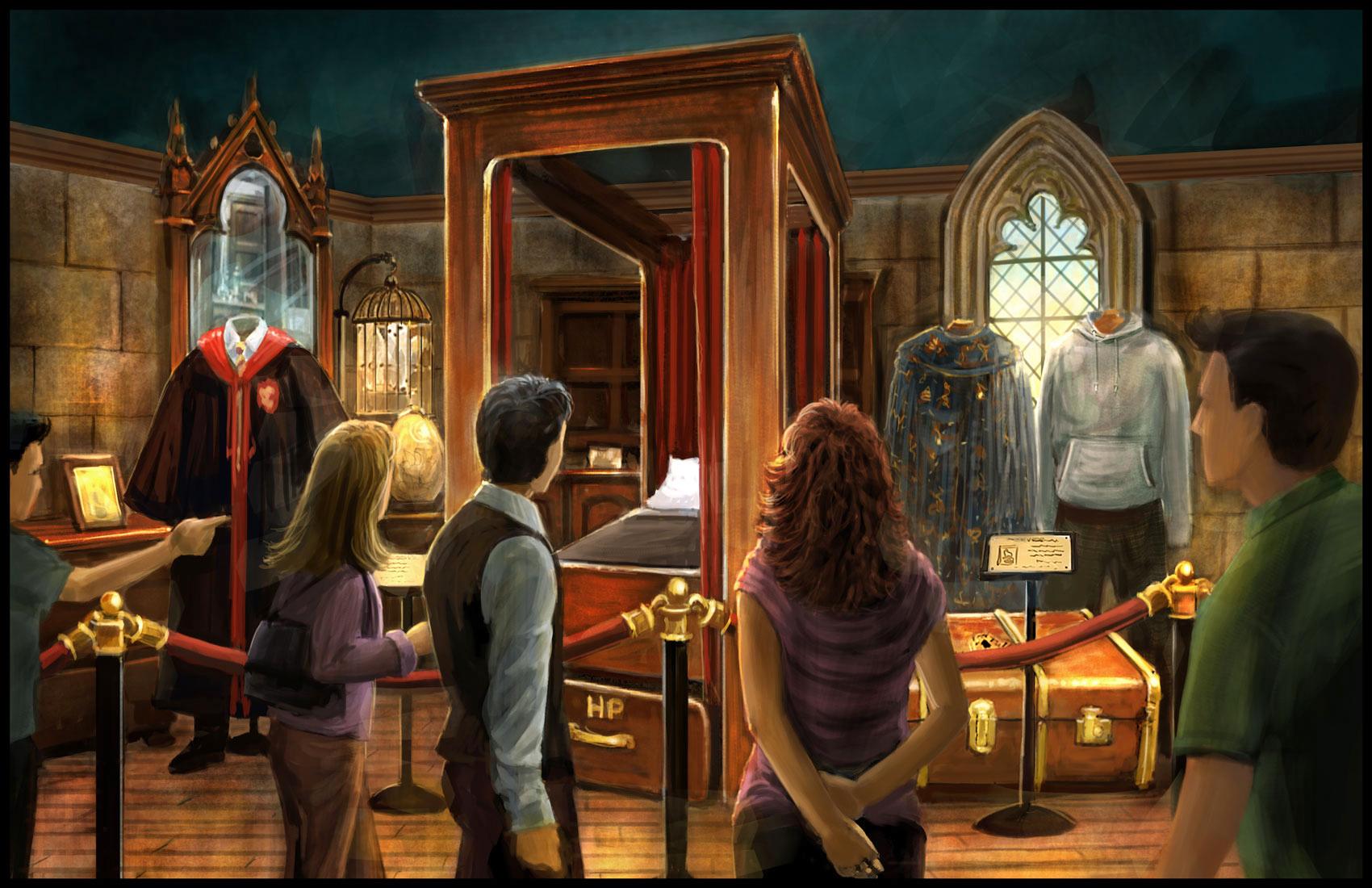 Sala Comun Gryffindor - Harry Potter La Exhibición