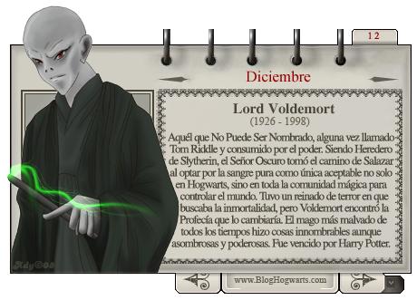 Voldemort Mago del Mes