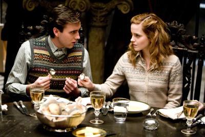 Neville y Hermione