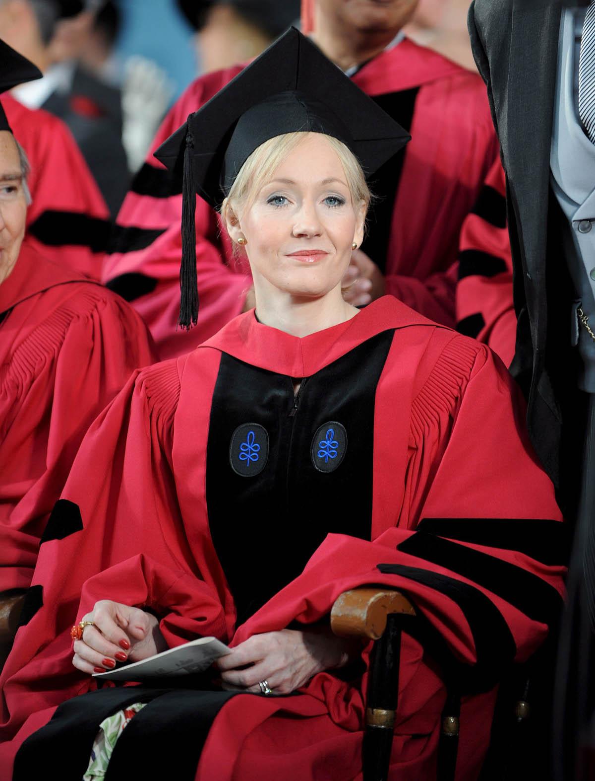 JK Rowling en Harvard