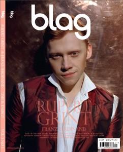 Rupert Grint en la Revista Blag