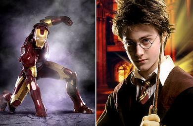 Harry Potter vs Iron Man