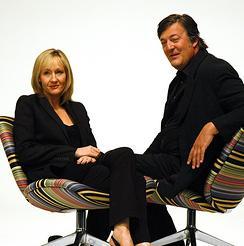 JK Rowling y Stephen Fry