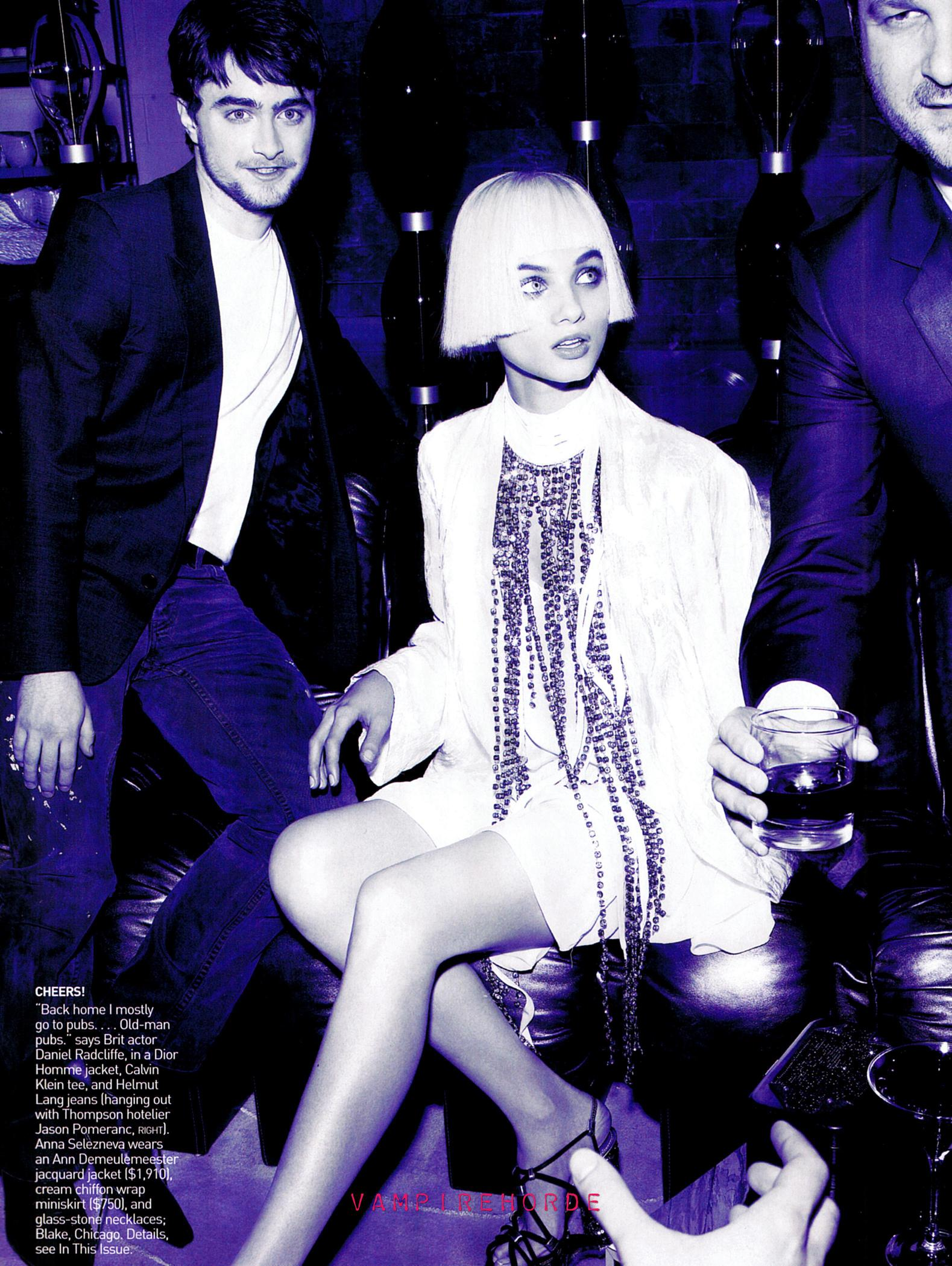 Daniel Radcliffe en la Revista Vogue