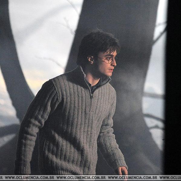 Daniel Radcliffe en Harry Potter y la Reliquias de la Muerte