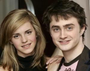 Emma Watson y Daniel Radcliffe