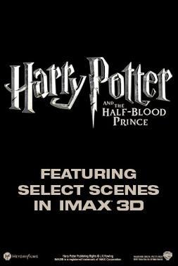 Harry Potter y el Misterio del Principe en IMAX
