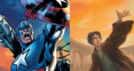 Harry Potter vs Capitan America