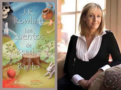 JK Rowling y los Cuentos de Beedle el Bardo