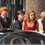 Rupert (Ron), Dan (Harry), Emma (Hermione)