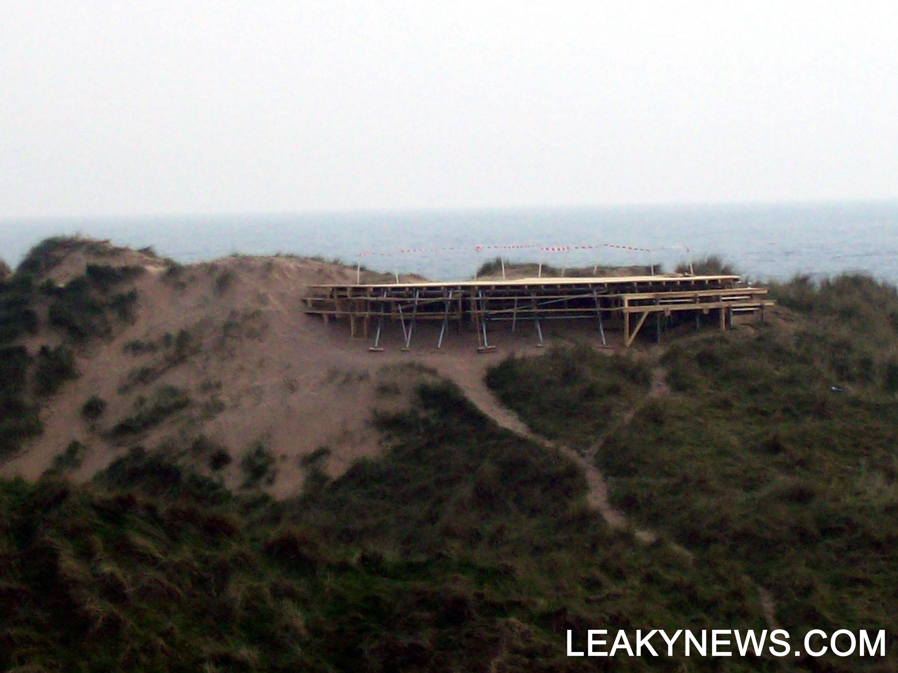 Construcción de 'El Refugio'