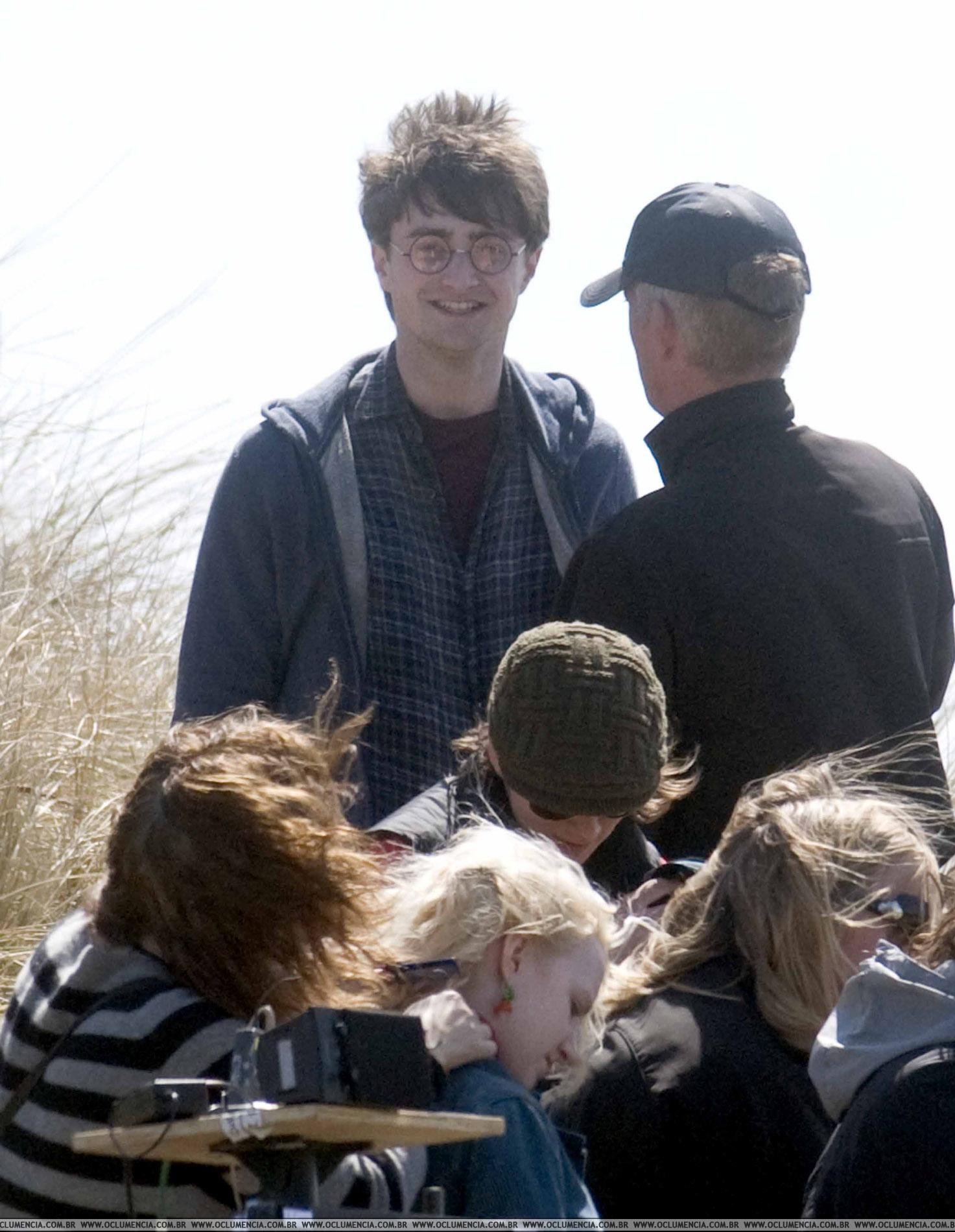 Daniel Radcliffe y Evanna Lynch