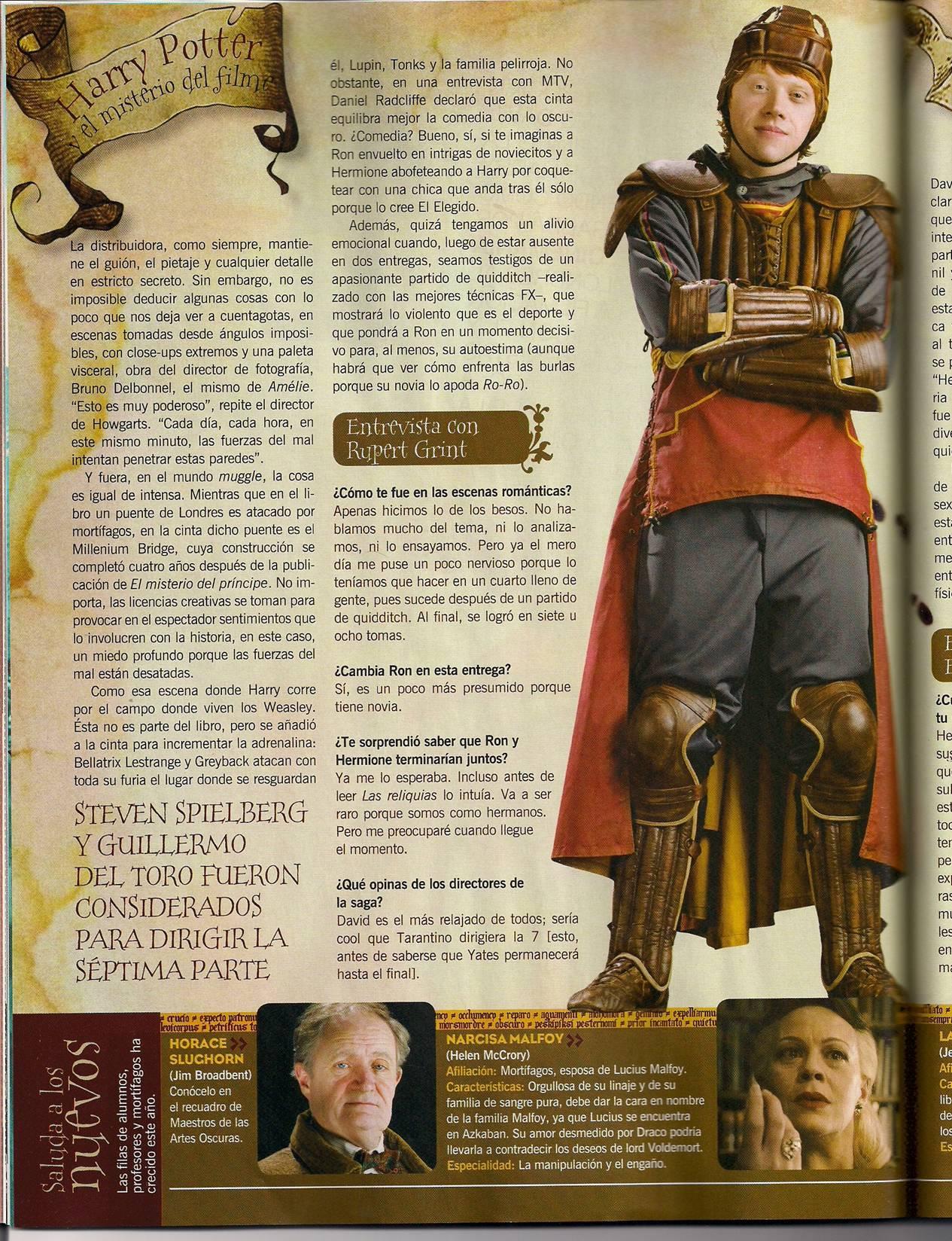 Entrevista a Ron Weasley
