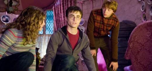 Hermione, Harry y Ron