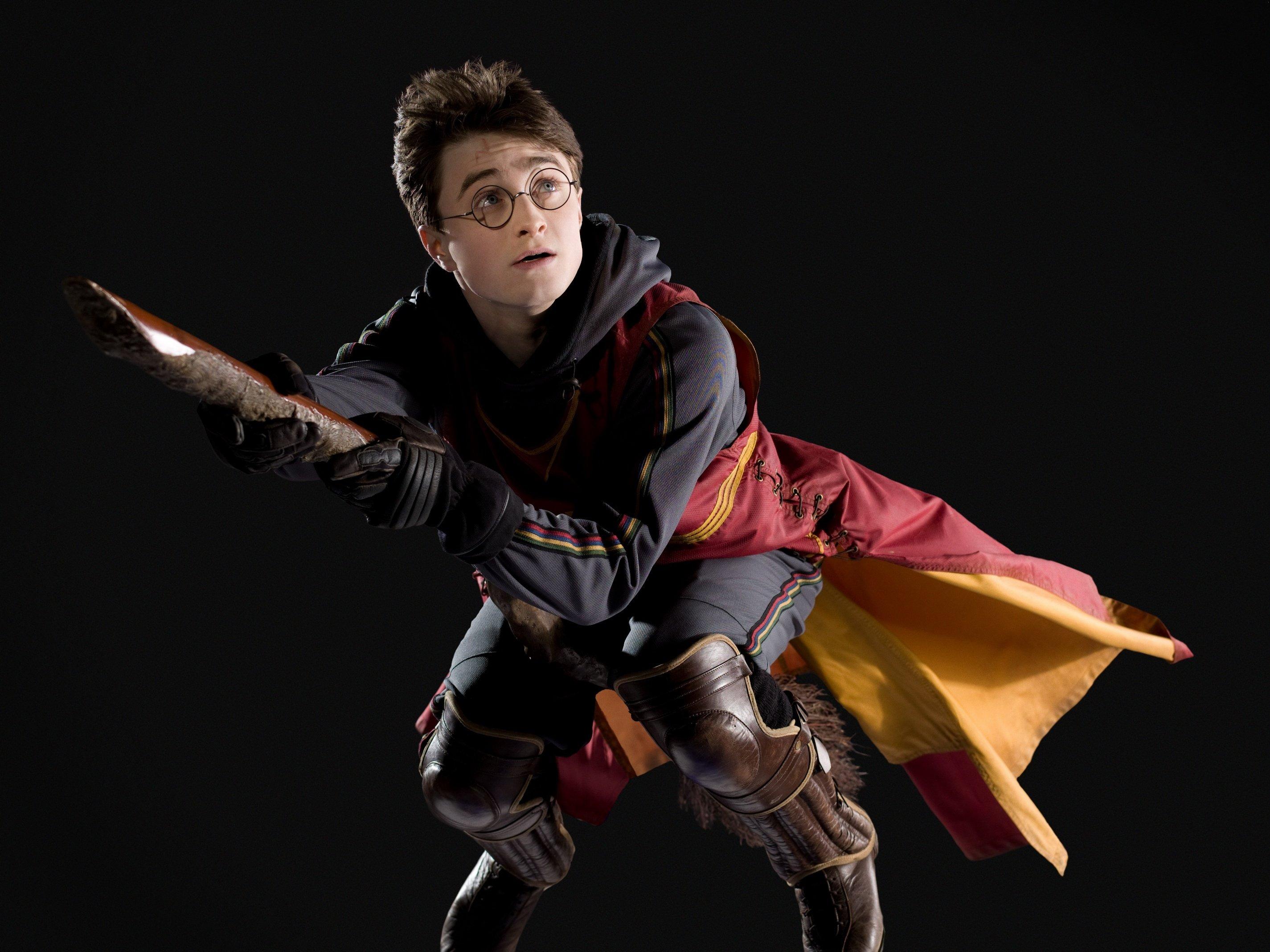 Daniel Radcliffe interpreta a Harry Potter.